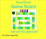 SmartBoard Game Board Template