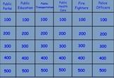 SmartBoard Jeopardy-Style Template Basic