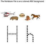 Smartboard Alphabet Practice