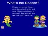 Smartboard Sorts Seasons Community Helpers