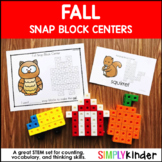 Snap Cube Center Fall {Simply Kinder}