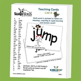 SnapWords® Sight Word List A Teaching Cards