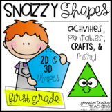 Snazzy Shapes! {Activities, Printables, Centers, & More fo
