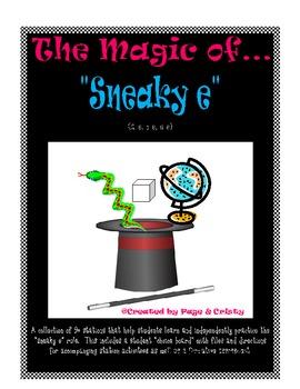 Sneaky E, Magic E, Silent E Word Work
