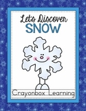 Snow Interactive Notebook - Winter - Let's Discover Snow -
