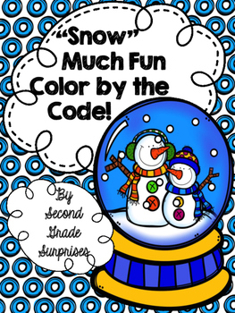 Snow Much Fun Color by the Code