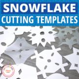 Snowflake Cutting Patterns:  Winter Fine Motor Fun