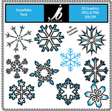 Snowflake (JB Design Clip Art for Commercial and Personal Use)