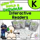 Snowman Interactive Easy Readers