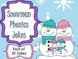 Snowman Phonics Jokes