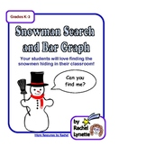Snowman Search and Bar Graph Activity