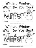Winter, Winter, What Do You See? Kindergarten Emergent Rea