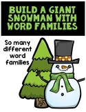Snowman Word Family Pack