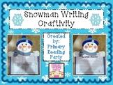 Snowman Writing Craftivity