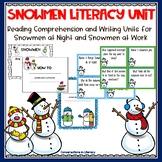 Snowmen Literacy Unit
