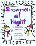 Snowmen at Night for BIG KIDS! {3rd-5th Grade}