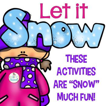 Snowy Winter Days Activities