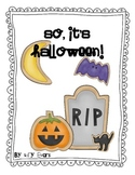 So... It's Halloween