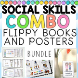 Social Skills Flippy Books with Manners/Expectations Poste