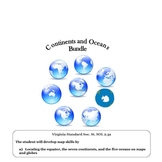 Social Studies: Continents And Oceans : World Geography Bundle