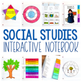 Social Studies Interactive Notebook for Grades 3-5