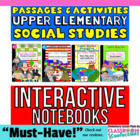TOP SELLER!! Social Studies Interactive Notebook BUNDLE fo