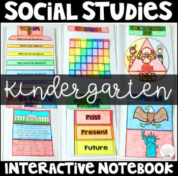 Interactive Social Studies Notebook (Kindergarten)