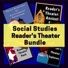 Social Studies Reader's Theater Bundle