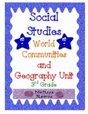 Social Studies World Geography for 3rd Grade