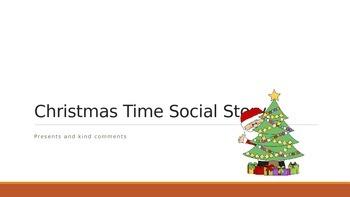 Social story presents