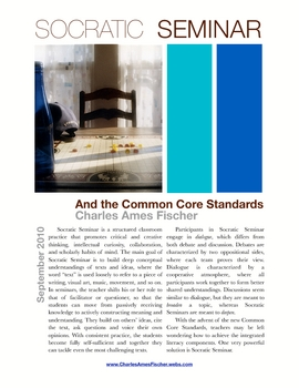 Socratic Seminar and the Common Core State Standards