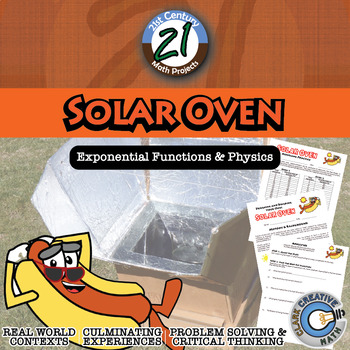 Solar Oven -- Integrated Science & Regression Functions ST
