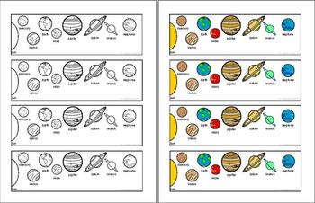 Solar System Printable Bookmark (page 3) - Pics about space