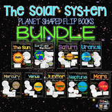 Solar System: Planet Shaped Flip Flap Books Bundle