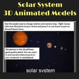Solar System Planets - 3D pdf