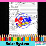 Solar System Poster Activity