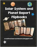 Solar System and Planet Report Flipbooks