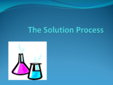 Solutions and Solubility PowerPoint Bundle for Chemistry a