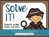 Solve It! Problem Solving Detective Packet