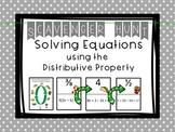 Solving Equations ( Harder Multi-Step Equations) Scavenger Hunt