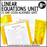 Solving Equations Unit