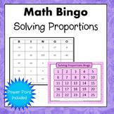 Solving Proportions Bingo