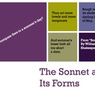 Sonnet and Its Forms PowerPoint