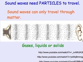 Sound Waves - Lesson Presentations, Lab Experiment, Comput