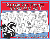 Sounds Fun Phonics Workbook Vol. 1