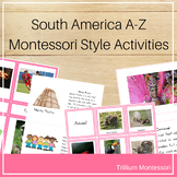 South America A-Z Montessori Pack