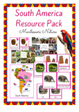 South America Resource Pack for The Montessori Classroom 3