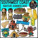 South West Native Americans Clip Art