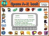 Space A-Z Book (Activity)
