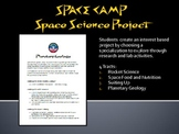 Space Camp - Space Science Project